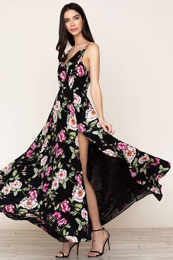 Yumi Kim Kat Silk Maxi Dress
