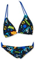 Batman Pop Art Women's Triangle Loop Hipster Bikini