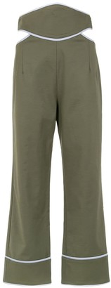Framed Double Layer trousers