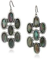 Lucky Brand Mother-Of-Pearl Chandelier Earrings