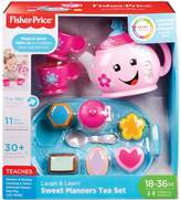 Fisher-Price Laugh Learn Sweet Manners Tea Set DYM76 - English Version