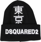 DSQUARED2 Japanese Logo Patch Beanie