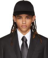 Brioni Black Baseball Cap