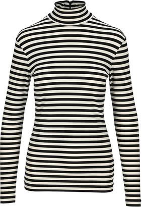 Burberry Striped Turtleneck T-shirt