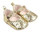 TRENDINAO Toddlers Baby Girls Princess Soft Crib Sequins Shoes