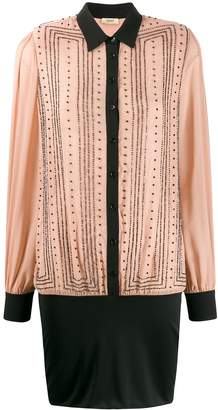 Liu Jo bead-embellished shirt dress