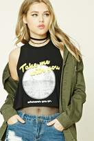 Forever 21 Take Me With You Muscle Tee