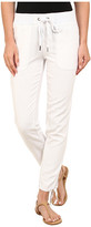 Mod-o-doc Linen Rayon Ankle Tie Pull-On Pants