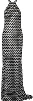 Missoni Metallic Crochet-knit Maxi Dress - Black