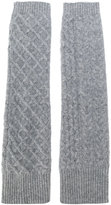 Pringle cable knit gloves