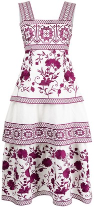 Alexis Verity embroidered dress