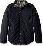 DC Men's Network Water Resistant Reversible Flannel Shirt Jacket