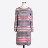 J.Crew Factory Printed three-quarter sleeve gallery dress