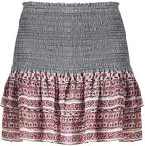 Veronica Beard Moore Tiered Mini Skirt