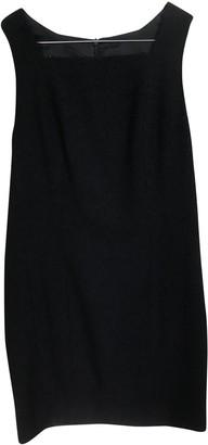 Chanel Navy Wool Dresses