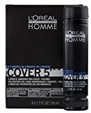 L'Oreal Homme Cover 5 - Ammonia Free 5-minute Color for Men (4 Dark Brown) by