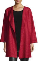 Caroline Rose Lana Fantasia Topper Coat, Plus Size