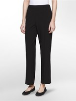 Calvin Klein Straight Fit Stretch Cropped Pants