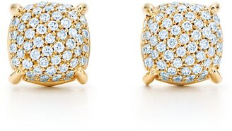 Tiffany & Co. Paloma's Sugar Stacks earrings in 18k gold with diamonds