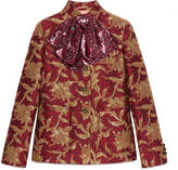 Gucci Floral jacquard jacket