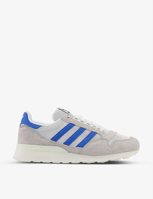 adidas ZX 500 RM suede and mesh trainers