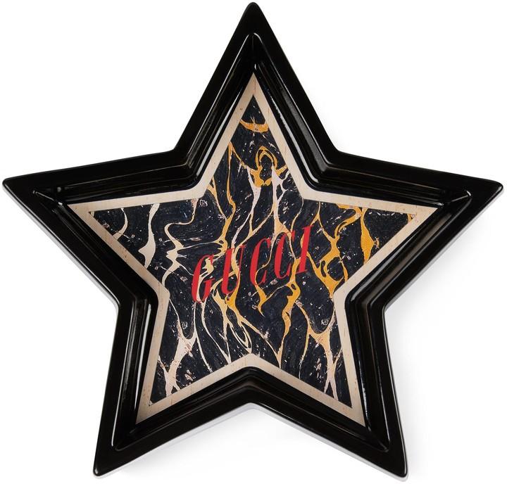 Gucci Multicolour Star Eye star-shaped trinket tray
