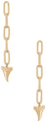 Rebecca Minkoff Shark Tooth Linear Link Earring