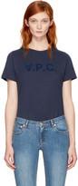 A.P.C. Navy 'V.P.C.' T-Shirt