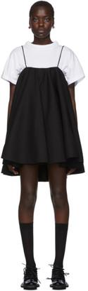 SHUSHU/TONG Black Strap Dress