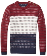 Tommy Hilfiger Th Kids Open Nautical Crewneck