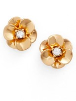 Kate Spade Women's Shine On Flower Stud Earrings