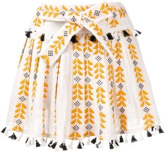 Dodo Bar Or Embroidered Mini Skirt