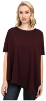 Jag Jeans Isabelle Poncho Tee Burnout Jersey