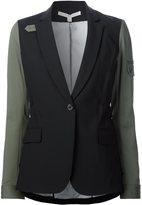 Veronica Beard contrast sleeve blazer