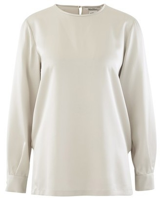 Max Mara Silk evening blouse