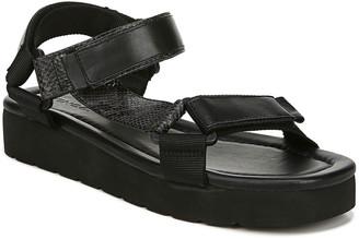 Vince Carver Leather Flatform Sport-Strap Sandals