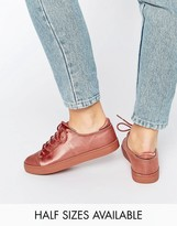 Asos Darley Clean Lace Up Trainers