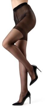 Me Moi Women's Crystal Sheer Shaper Pantyhose