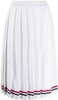 Thom Browne Elite Pleated Midi Skirt