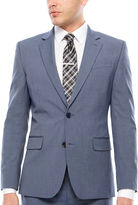 Jf J.Ferrar JF Texture Stretch Light Blue Jacket- Super Slim Fit
