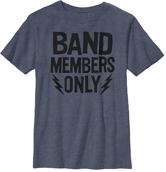 Fifth Sun Boys' Tee Shirts NAVY - Navy Heather 'Band Members Only' Tee - Boys
