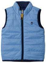 Timberland Blue Reversible into Navy Gilet