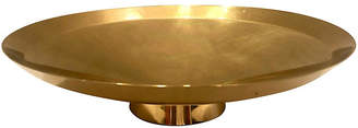 One Kings Lane Vintage Brass Modernist Bowl - nihil novi