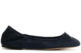 Sam Edelman tie-fastening ballerina shoes