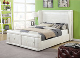 Acme Linus Pearl White Queen Bed