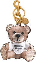 Moschino toy bear key ring - women - Polyurethane - One Size
