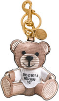 Moschino toy bear key ring
