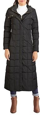 Cole Haan Hooded Maxi Coat
