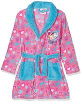 Nickelodeon Girl's Paw Patrol Hearts Dressing Gown,(Manufacturer Size: 3 Years)