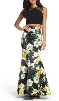 Xscape Evenings Women's Two-Piece Gown